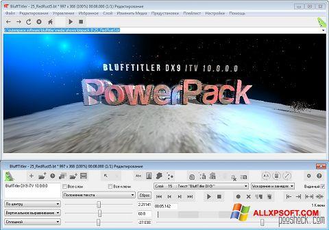 Screenshot BluffTitler untuk Windows XP