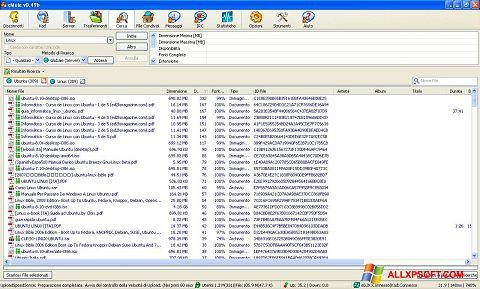 Screenshot eMule untuk Windows XP