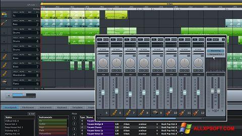 Screenshot MAGIX Music Maker untuk Windows XP