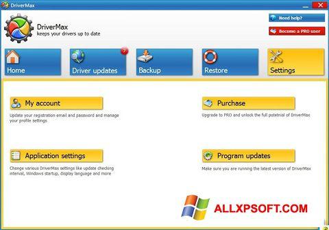 Screenshot DriverMax untuk Windows XP