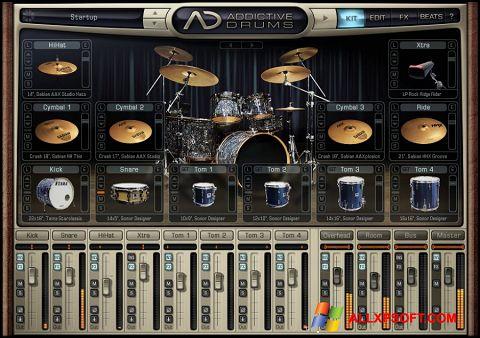 Screenshot Addictive Drums untuk Windows XP