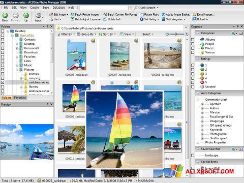 Screenshot ACDSee Photo Manager untuk Windows XP
