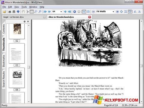 Screenshot DjView untuk Windows XP