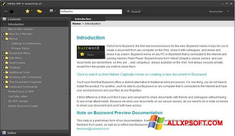 Screenshot Adobe AIR untuk Windows XP