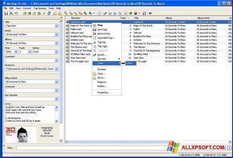 Screenshot Mp3tag untuk Windows XP