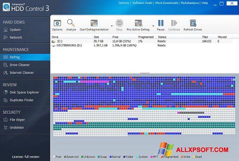 Screenshot Ashampoo HDD Control untuk Windows XP