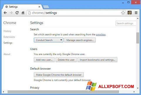 Screenshot Chrome Cleanup Tool untuk Windows XP
