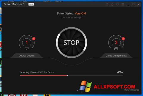 Screenshot Driver Booster untuk Windows XP