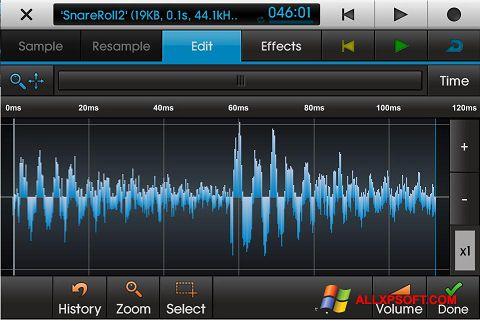 Screenshot NanoStudio untuk Windows XP