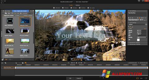 Screenshot Pinnacle Studio untuk Windows XP