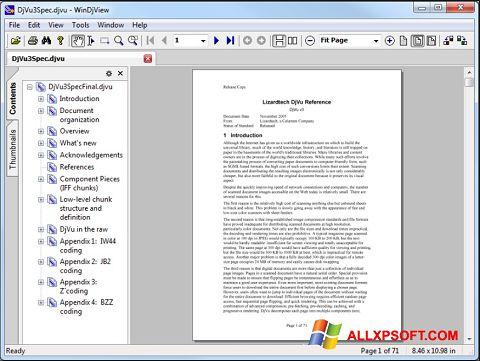 Screenshot WinDjView untuk Windows XP