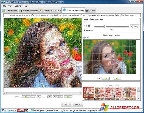 Screenshot Photo Collage untuk Windows XP