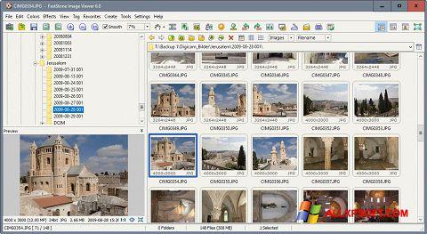 Screenshot FastStone Image Viewer untuk Windows XP