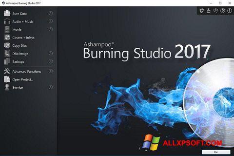 Screenshot Ashampoo Burning Studio untuk Windows XP