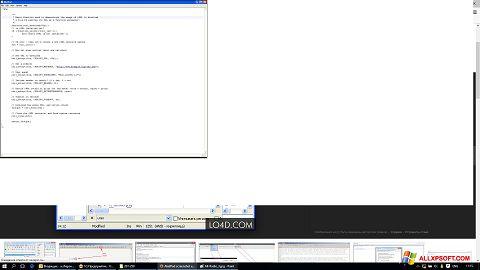 Screenshot AkelPad untuk Windows XP
