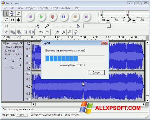 Screenshot Lame MP3 Encoder untuk Windows XP