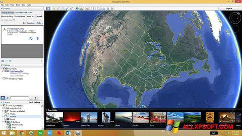 Screenshot Google Earth untuk Windows XP
